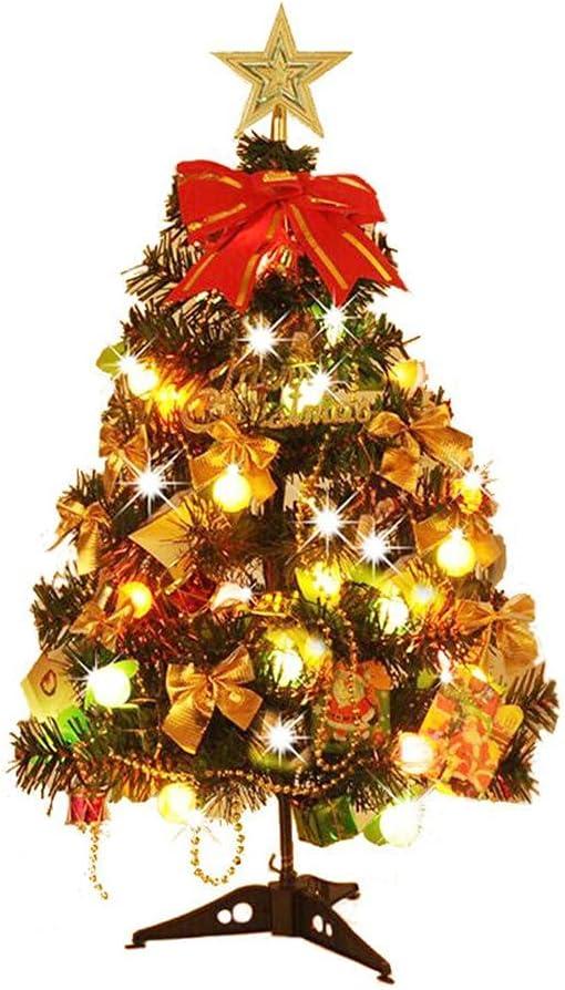 Yurone 60CM unisex Tabletop Mini Artificial Tr Tree New item Christmas
