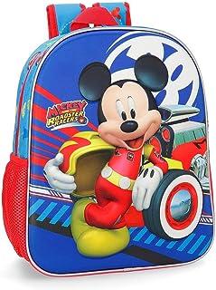 23622B1 Mochila 33 cm frontal 3D adaptable a carro World Mickey, Multicolor