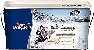 bruguer 106515 Pintura paredes y techos, Alaska Blanco Luminoso, 4 litros