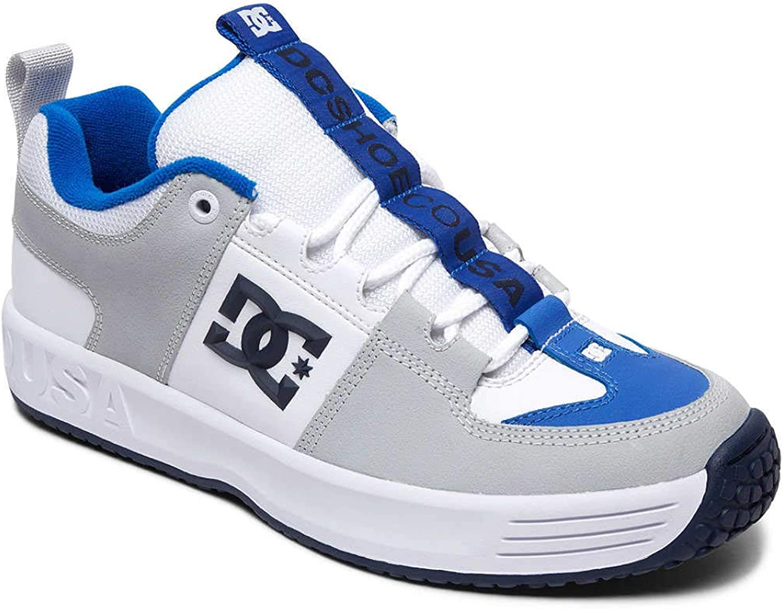 DC skor Män Lynx OG OG OG skor vit  blå  extremt låga priser