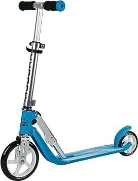 HUDORA Little Big Wheel – Patinete Infantil – Altura Ajustable de 68 a 74 cm