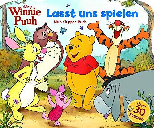 Winnie Puuh, Lasst uns spielen - Disney - Mein Klappenbuch