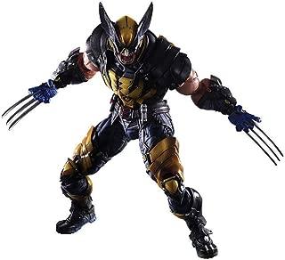 Wolverine Figure X Men X-Men Play Arts Kai Wolverine James Art Kai PVC Action Figure 26cm Doll Toy