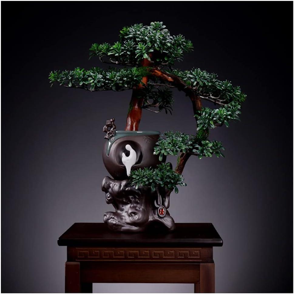 XIANGE100-SHOP Artificial Tree Bonsai Regular dealer Plant Many popular brands Pl Potted