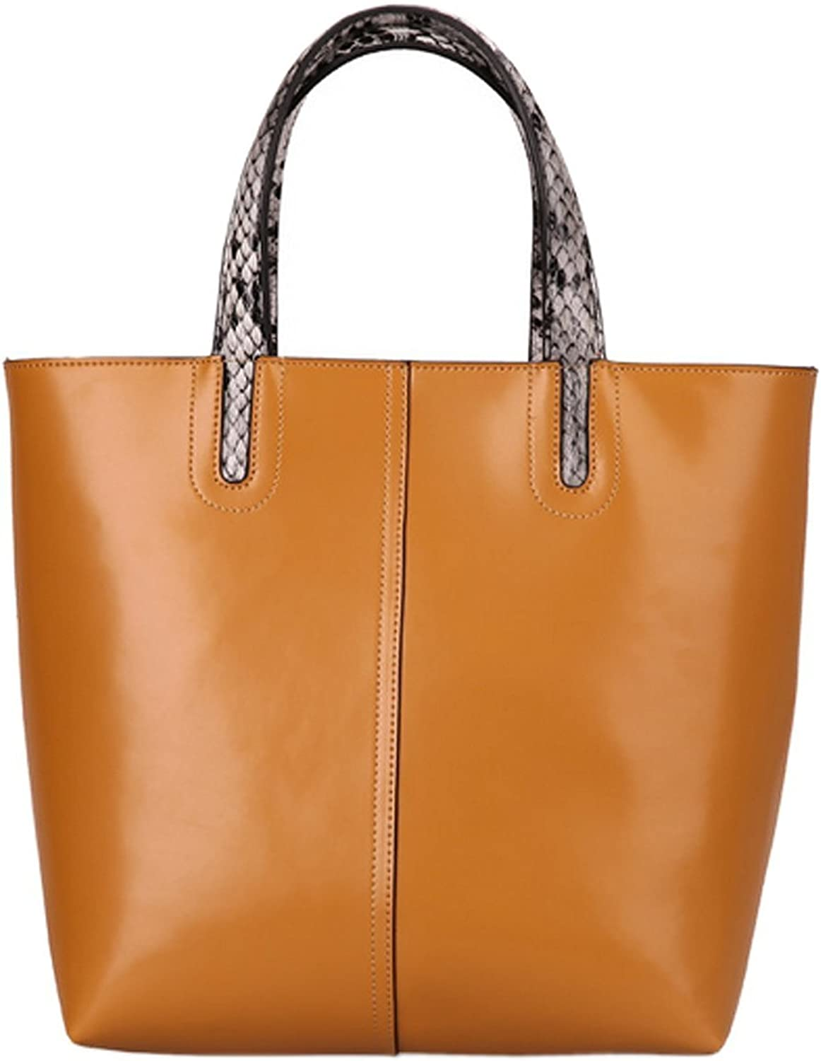 Colnsky Womens Fashion trends Cowhide Top Handle Handbag New Style