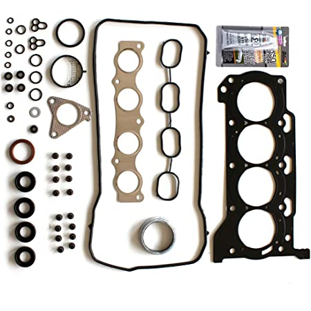 SCITOO Head Gasket Set Replacement for Toyota Corolla 4-Door Sedan 1.8L CE Engine Parts