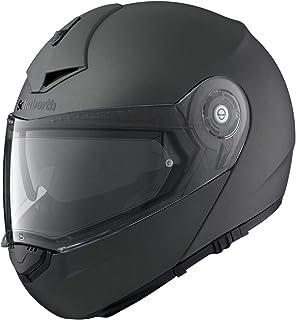 SCHUBERTH C3 Pro Matt Anthracite Motorradhelm, Farbe Anthracite, Größe M 56/57