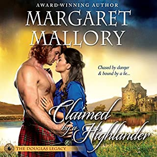 Claimed by a Highlander audiobook cover art