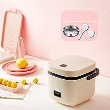 Huishoudelijke mini rijstkoker Kleine slimme rijstkoker 1-4 personen Multi-functie 1.2L Automatische rijstkoker kan worden...