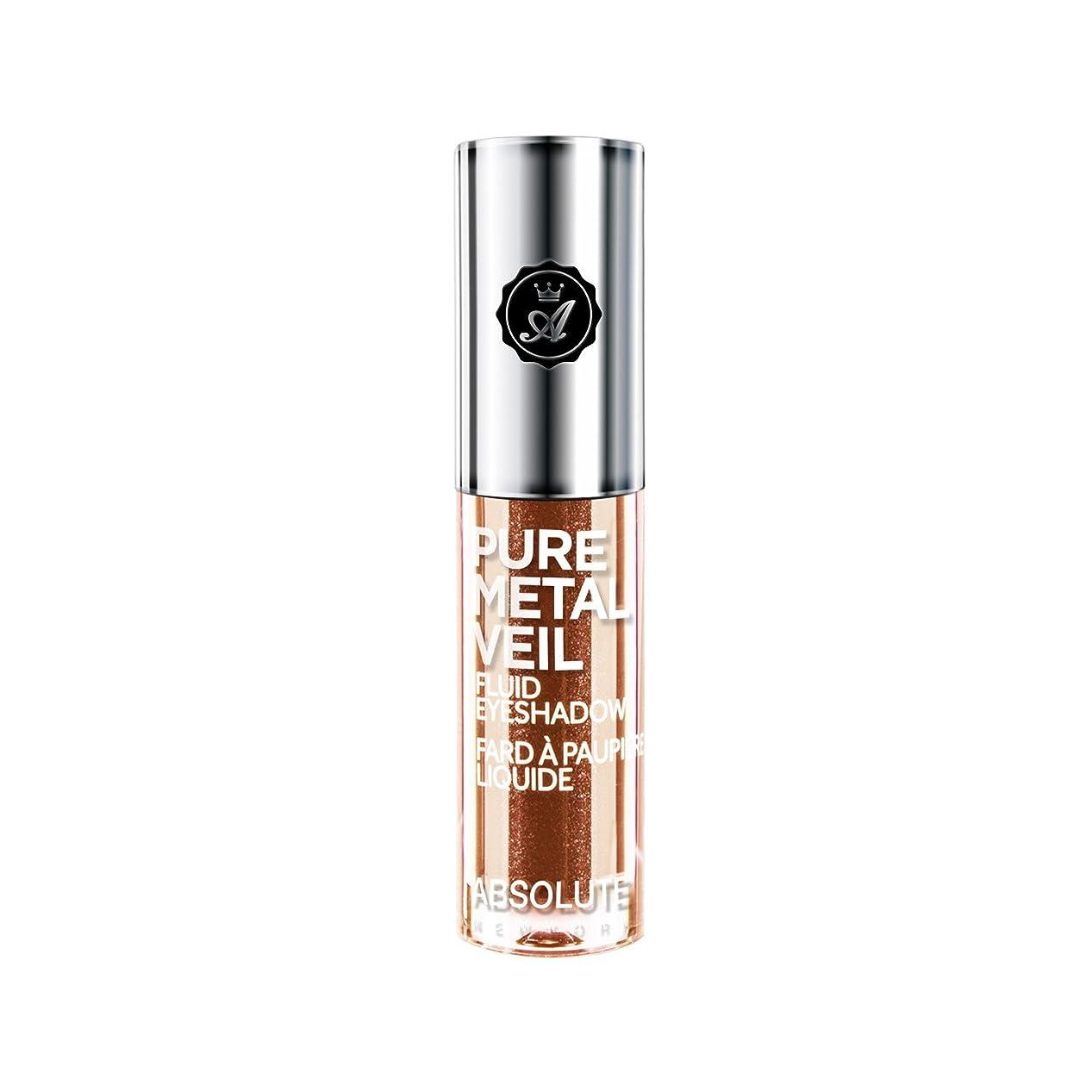 不愉快に多様性岩ABSOLUTE Pure Metal Veil Fluid Eyeshadow - Blingin Bronze (並行輸入品)