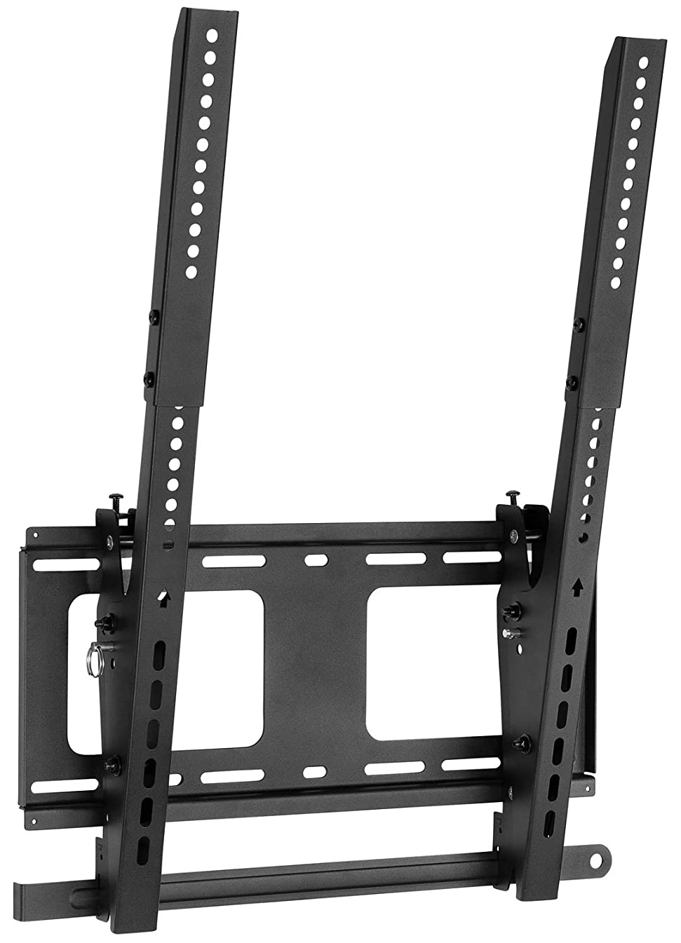 Mount-It! Vertical Portrait TV Wall Mount, Vertical-Orientation Menu Wall Board Mount, Tilting, Anti-Theft and Lockable, Fits Most 40