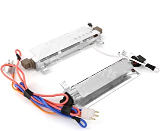 WR51X442 Refrigerator Defrost Heater & Thermostat Kit for GE Hotpoint Kenmore RCA, Replaces WR51X0371 WR51X0442 WR51X0463 WR51X342 WR51X371 WR51X463 AP2071464 1972 AH303933 EA303933 PS303933