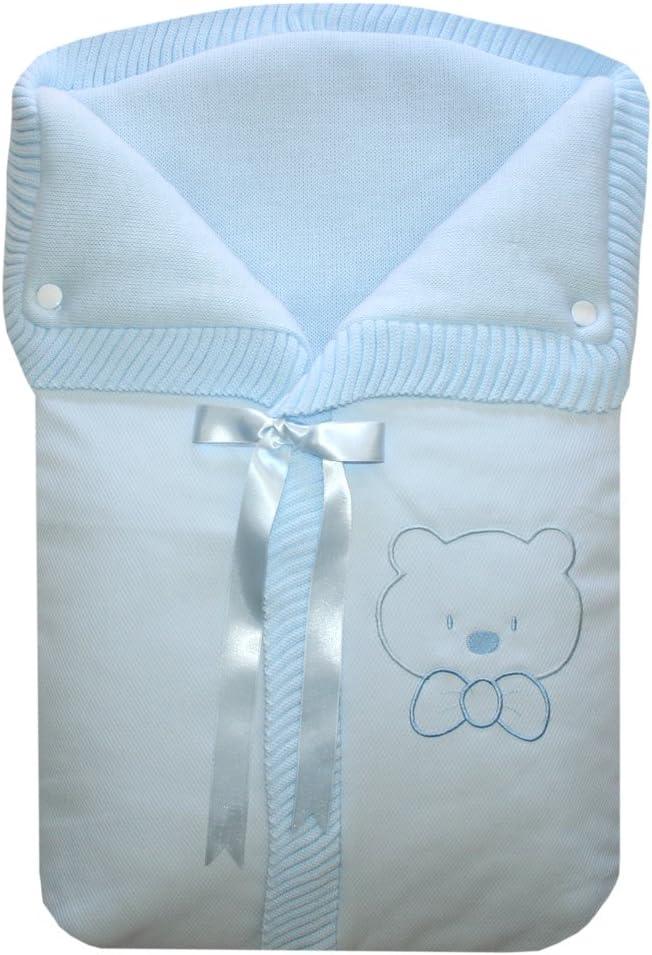 Osito color Azul Saco de Mano o Capazo Universal Estrellas//Osito