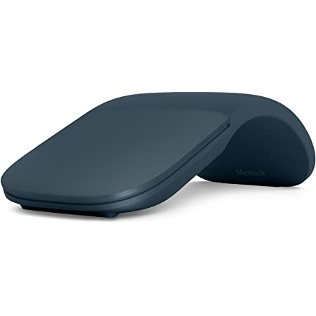 Microsoft Surface ARC Mouse - Ratón (Ambidextro, Bluetooth, Azul)
