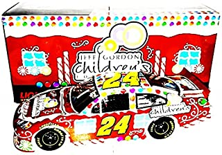 AUTOGRAPHED 2012 Jeff Gordon #24 Children's Foundation CHRISTMAS CAR (Sam Bass Design) Signed Lionel 1/24 NASCAR Holiday Diecast with COA (#195 of only 888 produced!)