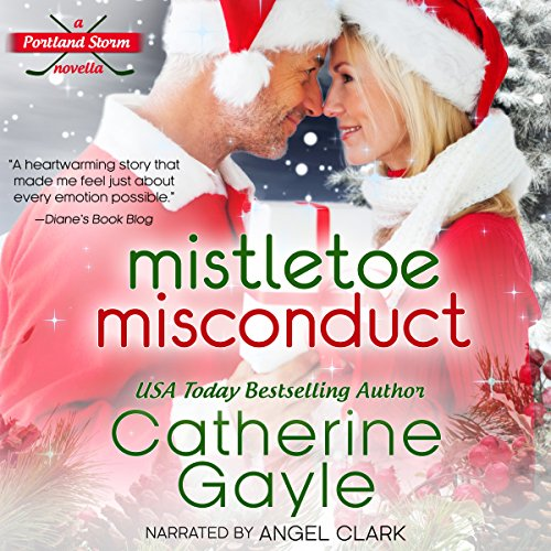 Mistletoe Misconduct audiobook cover art
