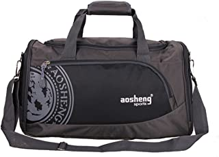 TT WARE Men Woman Gym Bag Large Capacity Outdooors Fitness Multifunctional Shoulder Bag-Black