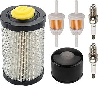 Mckin MIU14395 Air Filter + AM125424 Oil Filter Maintenance Kit fits John Deere D100 D110 D130 D140 D160 D170 D105 D120 Z225 Z235 LA115 LA105 LA145 E130 E100 E120 E140 E150 Mower