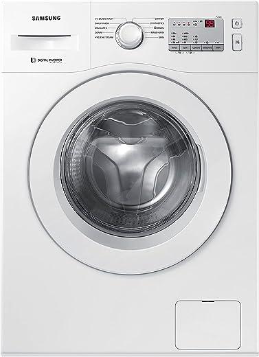 Samsung 6.0 Kg Inverter 5 Star Fully-Automatic Front Loading Washing Machine (WW60R20GLMA/TL, White, Hygiene Steam) 1