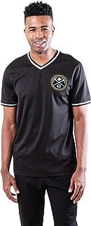 Ultra Game Men's Jersey V-Neck Mesh Short Sleeve Tee Shirt