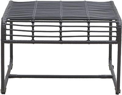 House Doctor Oluf Table Noir 61 x 58 cm 61 x 58 cm Noir