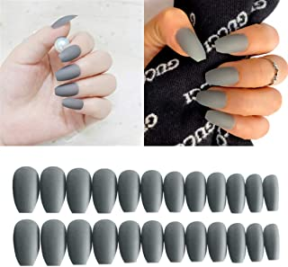 Best gray coffin nails Reviews
