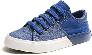 Urban Fit Boy Sneaker Shoes Canvas Casual Lightweight Sneakers (Toddlers/Little Kids/Big Kids)