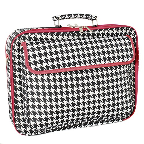 World Traveler 43,2 cm Laptop Computer Fall, Red Trim Houndstooth (Rot) - 812010-606-R