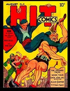 Hit Comics #2: Classic Golden Age Adventure Comic With Popular Lou Fine Art!