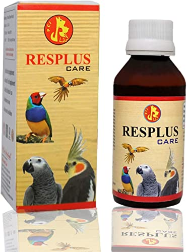 Pet Care International (PCI) Resplus Care to Help in Respiratory Problem for Healthy Bird Healthcare (Pack of 2) (100ml)
