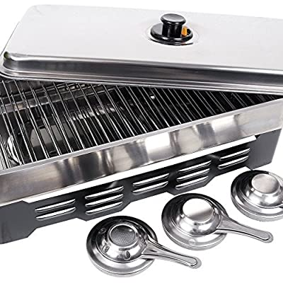 Fladen Home Smoker with Burners