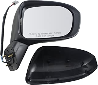 Power Side View Mirror Passenger Replacement for 14-15 Honda Civic 76208-TR4-C01