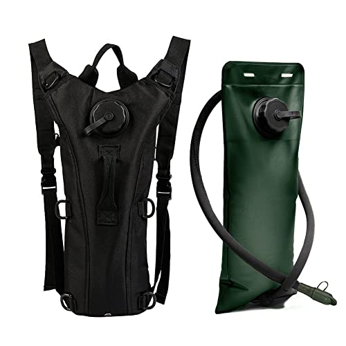 dfaffe885f6 ZOORON 3L Hydration Packs, Adjustable Tactical Water Backpack Reservoir  Hiking Water Drink Bag Pouch Shoulder