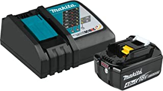Makita BL1840BDC1  LXT Lithium-Ion Battery and Charger Starter Pack, 18V