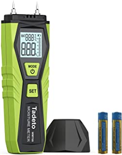 Sponsored Ad – Wood Moisture Meter, Tadeto Pin Type Digital Humidity Tester, Moisture Detector for Wood Building Material ...