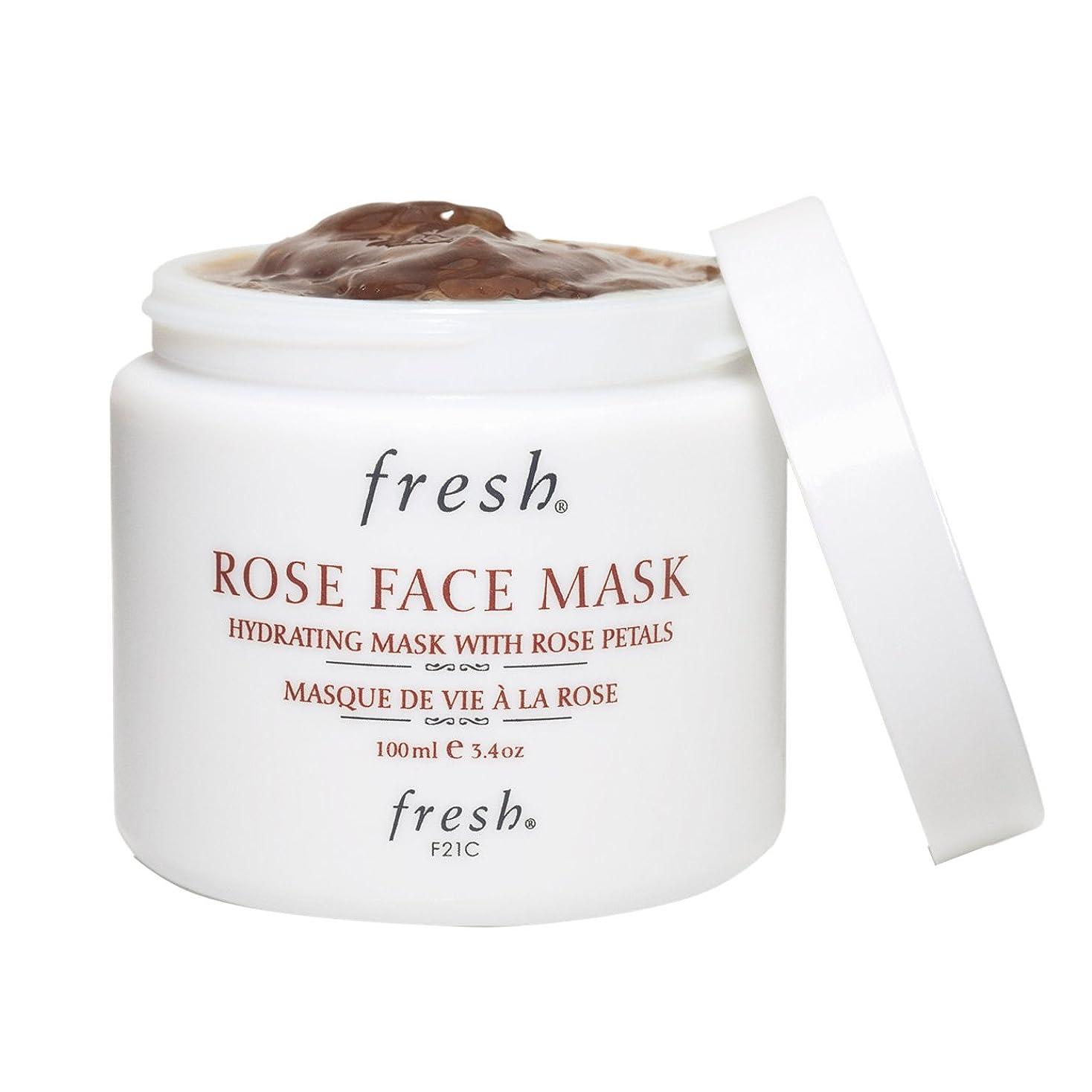 入場細部赤ちゃんフレッシュ ローズフェイスマスク(Fresh ROSE FACE MASK) 100ml(3.3oz)[並行輸入品]
