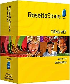 Rosetta Stone Version 3: Vietnamese Level 1, 2 & 3 Set with Audio Companion