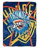 The Northwest Company NBA Oklahoma City Thunder 'Shadow Play' Raschel Throw Blanket, 60' x 80' , Blue