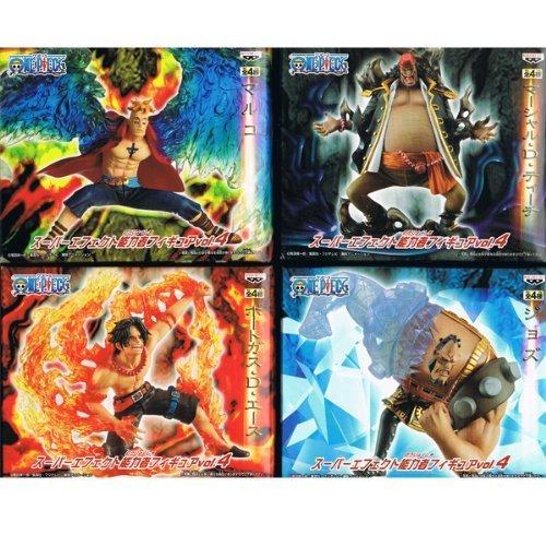 ONE PIECE One Piece Super Effect Figure psychic Vol. 4-port gas D Ace / Marco / Jozu / Marshall D tea ... (japan import)