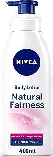 NIVEA Natural Fairness Body Lotion, All Skin Types, 400ml