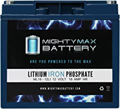 Mighty Max Battery 12V 18AH Lithium Replacement Battery for Energizer 84020 All in One Brand Product