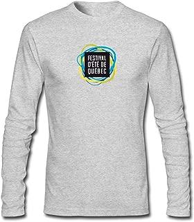 Hefeihe DIY Screen Shot Men's Long-Sleeve Fashion Casual Cotton T-Shirt