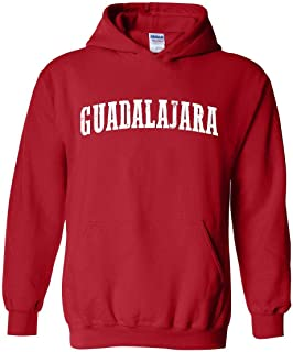 Mexico Cruise Family Vacation Gift Guadalajara Unisex Hoodie (LR) Red