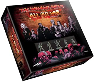 Mantic Games WD001 - Walking Dead - All Out War - Jeu de zombie sur table - Comprend des figurines de 28 mm x18