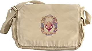 pastel goth messenger bag