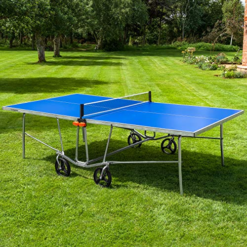 Vermont TS100 Outdoor Table Tennis Table – Portable Design | Foldable Multi-Surface Ping Pong Table (Table Only)