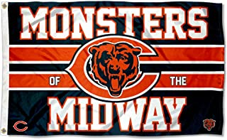 Wincraft Chicago Bears Monsters of The Midway Flag