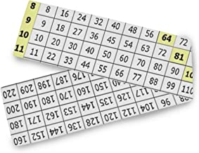 multiplication chart 90x90