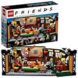 LEGO Ideas Central Perk della Serie TV Friends con l'Iconica Caffetteria e 7 Minifigure, Set da...