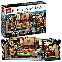 Questo set LEGO Ideas include 7 minifigure, novità di settembre 2019: Ross Geller, Rachel Green, Chandler Bing, Monica Geller, Joey Tribbiani, Phoebe Buffay e Gunther. Il giocattolo del caffè CENTRAL PERK contiene l'iconico salotto con un divano, una...